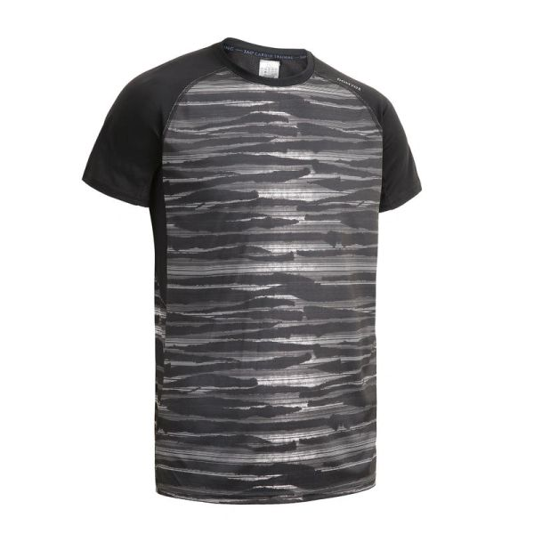 PUBG T-Shirt Half Sleeve Round Neck (Black)