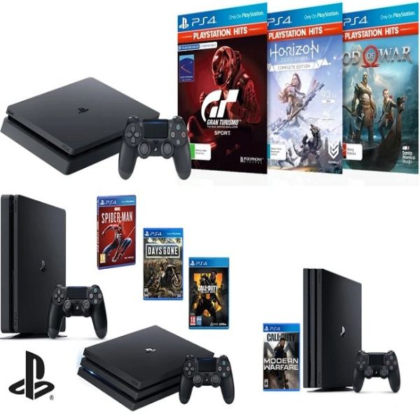 Sony PlayStation PS4 Slim 1TB Console(Black)