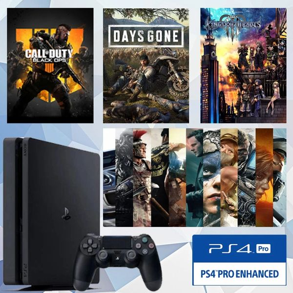 SONY PlayStation PS4 PRO 1TB Hard Disk(Black)