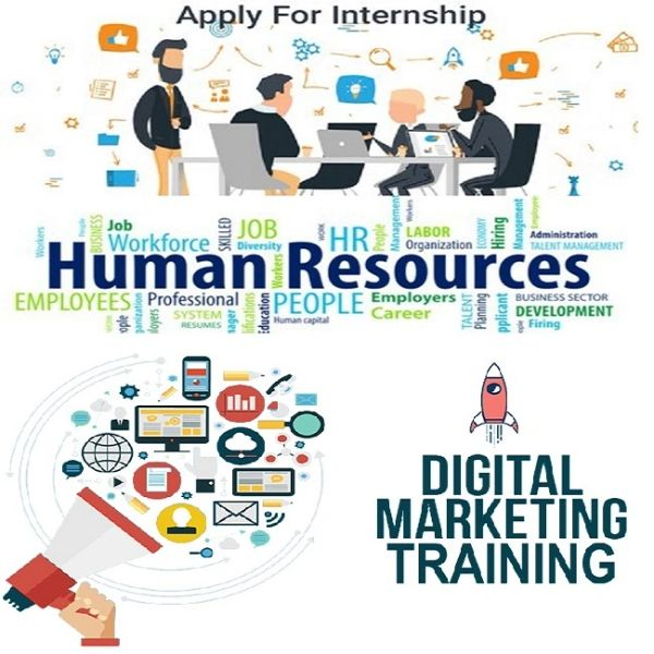 HR and Digital Marketing Dual Training Internship Course