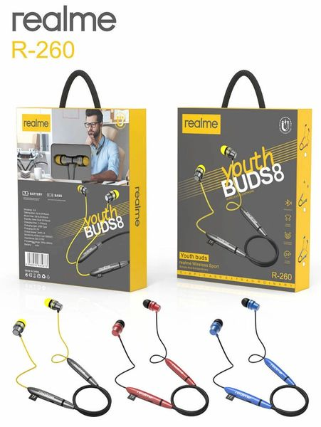 Realme R-260 Youth BUDS 8 WIRE LES HEADPHONES