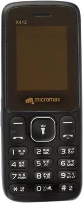 Micromax X412 (Black)