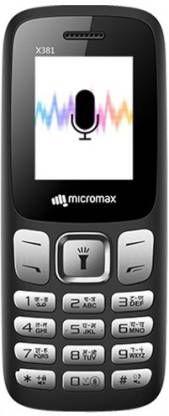 Micromax X381(Black)