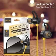 Realme Buds 3 Wire Headphone(Black)