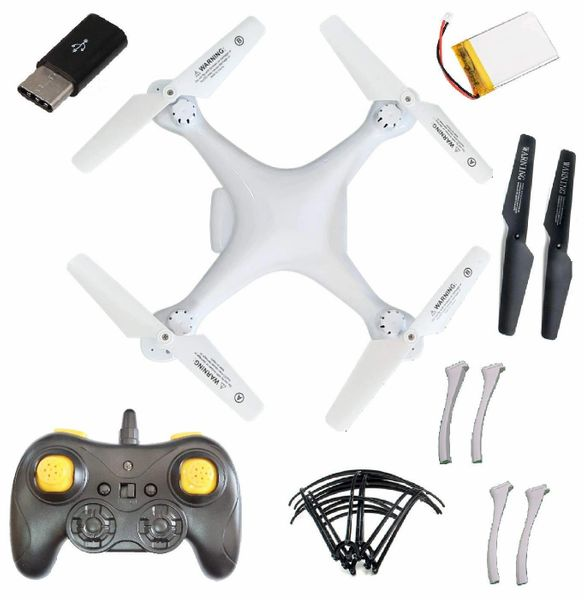 Falcon Drone Four Axis Aircraft with 2.4 GHz RC, Blade Guard, Headless Mode LED Without Camera