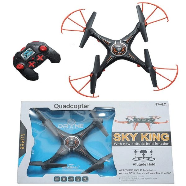 Sky King Drone 6 Axis Gyro RC Quadcopter Without camera