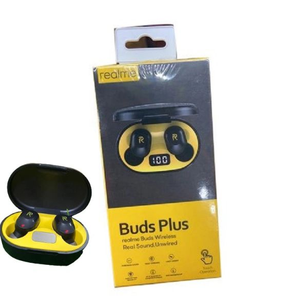 REALME BUDS PLUS Wireless Bluetooth Ears Buds Headphone