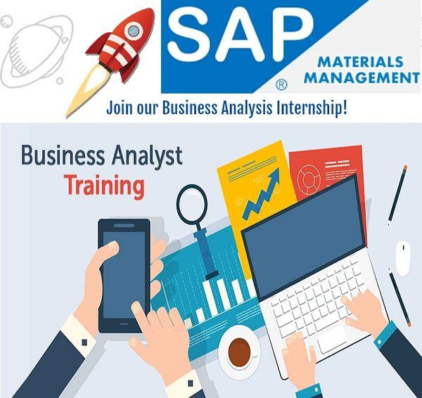 SAP MM Business Analyst Internship Training Program