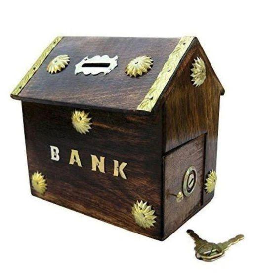 Piggy Bank Saving Coin Box