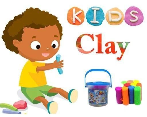 Color Clay Set for Kids Children Colors Air Dry Clay