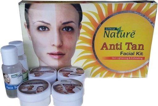 Nature Anti Tan Facial Kit 4pc