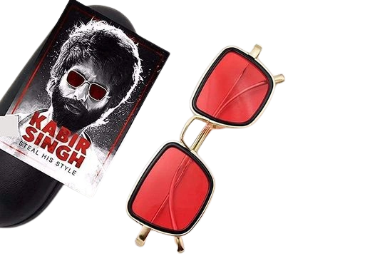 Davidson Sunglasses Unisex Metal Body Tony Stark Style and Inspired By Shahid Kapoor Kabir Singh
