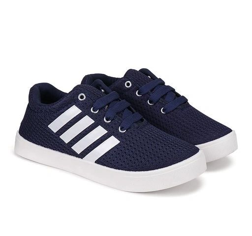 Navy Blue Canvas shoe for Boys