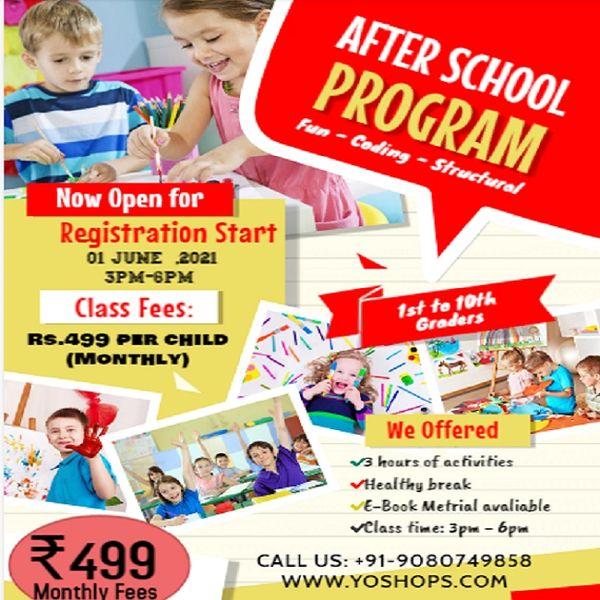 Fun Activities for Kids LKG to STD 10(Singing, Dancing, Drawing, Craft, Music, Yoga, Karate)