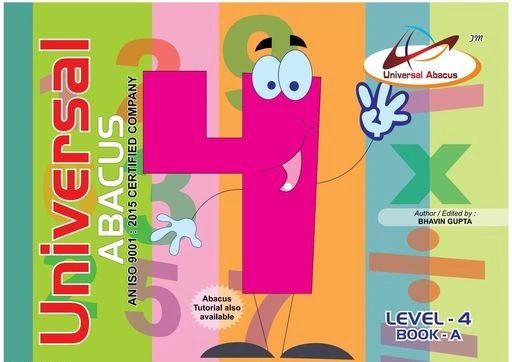 Universal Abacus Maths Book Level-4 Book-A