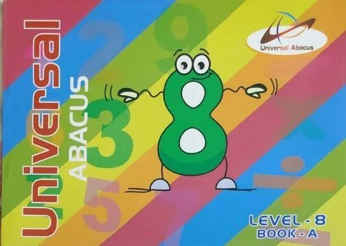 Universal Abacus Maths Book Level-8 Book-A