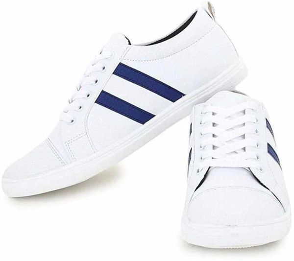 Yo Lifestyle White with Blue strike Color Casual Shoes