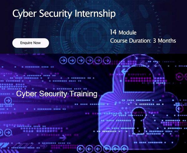 Cyber Security Internship Training Program