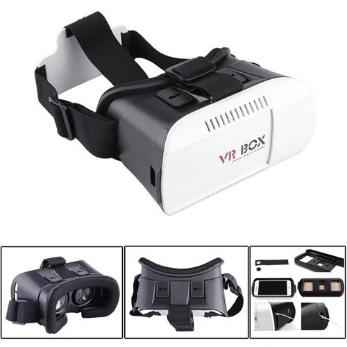 Yoshops VR BOX Virtual Reality Glasses Headset 2.0 View Suitable For 4-6 Inch Smartphones