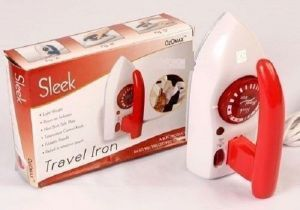 Ozomax Sleek Travel Iron (Purple,Red)