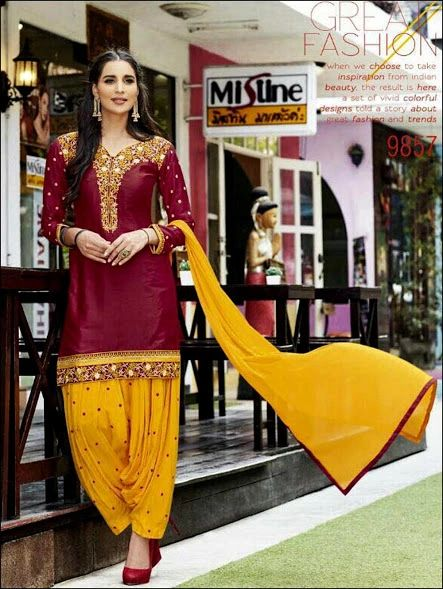 Patiala Suit By Zara