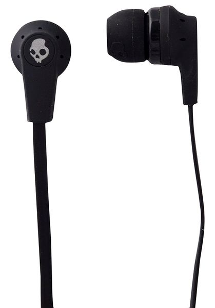 Skullcandy S2IKDY-003-Ink'd 2.0 Earbud Headphones with Mic