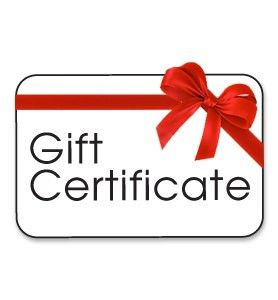 $17.00 Gift Certificate