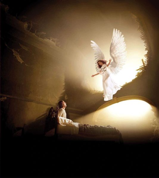 White Whispering Angel