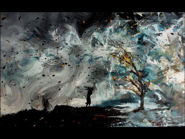 """18x24"""" Hurricane Sandy print"""