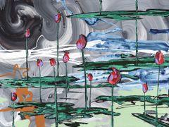 "18x24"" Water Lilies print"