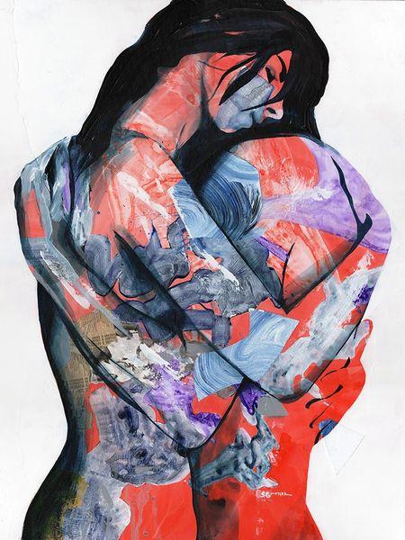 """Embrace"" print"