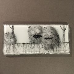 Neighbourly Monsters Paperweight