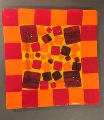 Checkered Platter