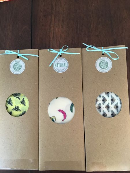 Eco Friendly Wax wraps 3 pack