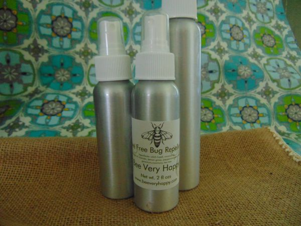 Bee Free Bug Repellent 4 ozs Spray