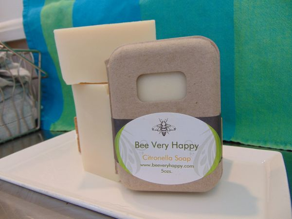 Citronella Soap, for camping, outdoors , or pets