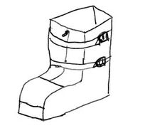 # 514 A BOOT - FOOT CAST