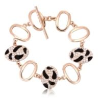 Fashion Leopard Bracelet Made With Crystals From Swarovski