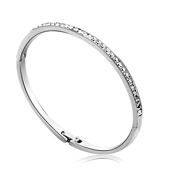 Bangle Made With Crystals From Swarovski