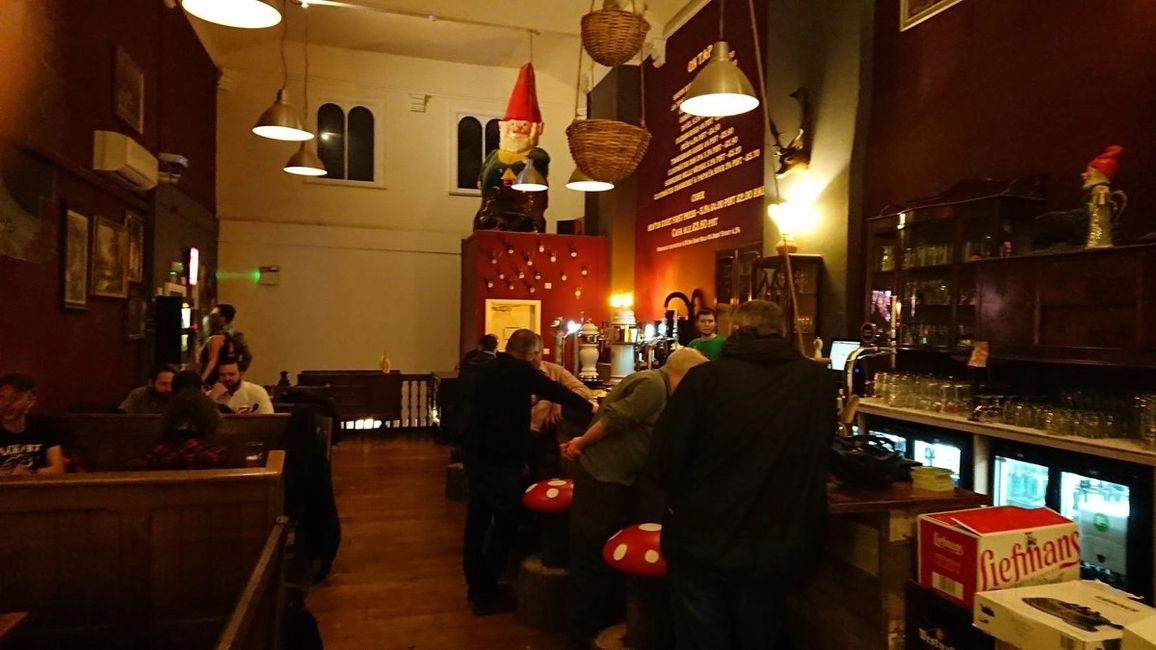The Cavern of the Curious Gnome, Belgian beer, German lager and British craft ale in Chester