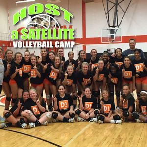 Host a high school team volleyball camp