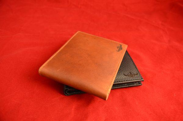 Men's Wallet Brown 100% Leather Calfskin by ARTTURI™