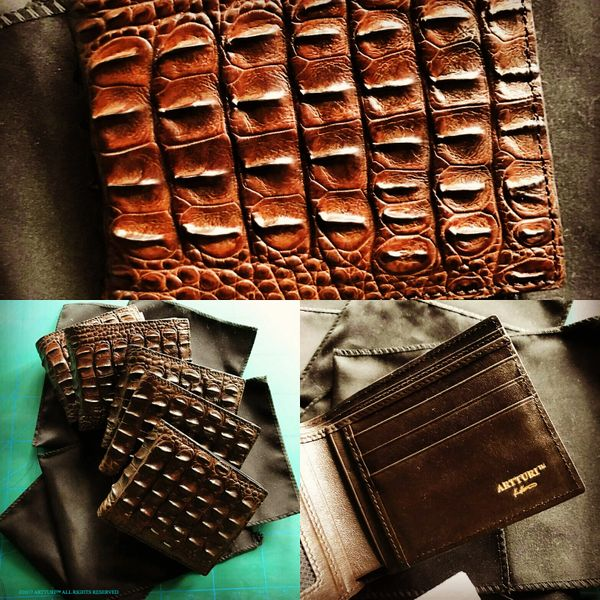 The Crocodile Wallet by ARTTURI™