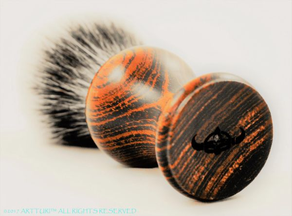 Rosewood Silvertip Badger Brush (customize it!)