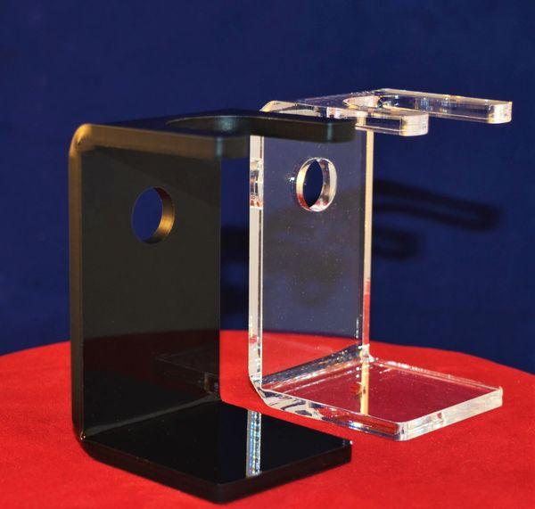Acrylic Drip Stand (Super Clear or Ebony Black)
