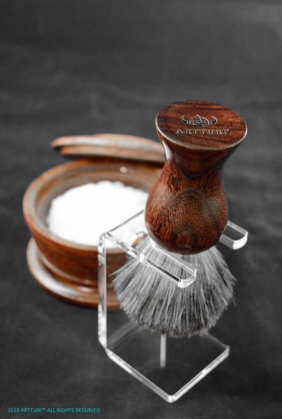 Shave Brush 100% Best Badger The Mahogany Mad Man by ARTTURI™