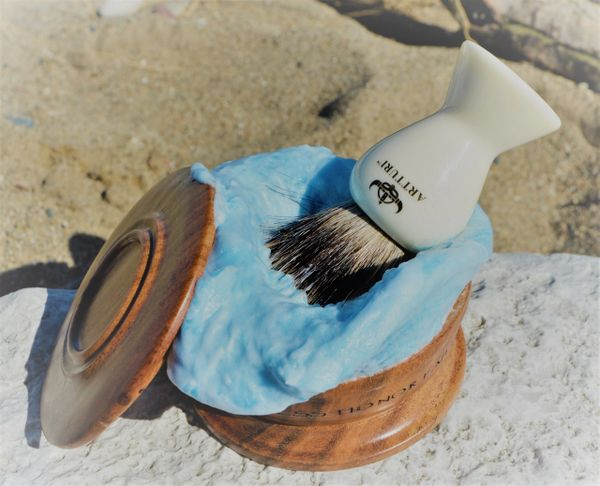 Silver Tip Badger Shave Brush Our Signature Premium REKKR Resin by ARTTURI™