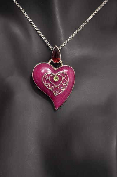 Pink Aventurine, Garnet & Peridot