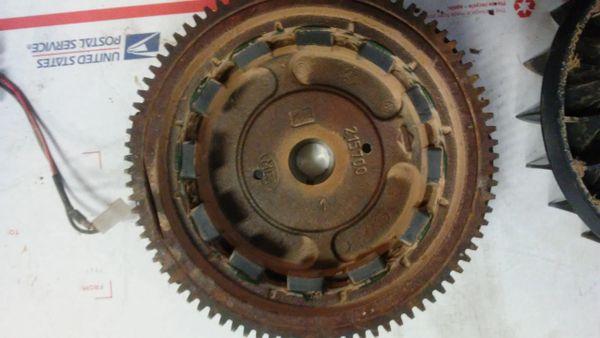 Briggs & Stratton Flywheel 698281, Alternator & Ignition Coil