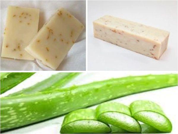 Soothing Aloe Handmade Soap